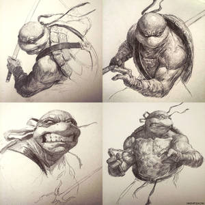 TMNT Sketch Collection!