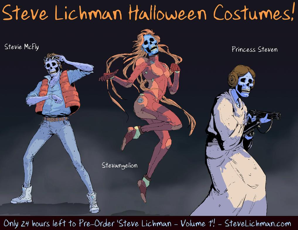 Steve Lichman Halloween Costumes #1 by DaveRapoza