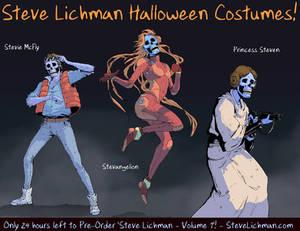Steve Lichman Halloween Costumes #1