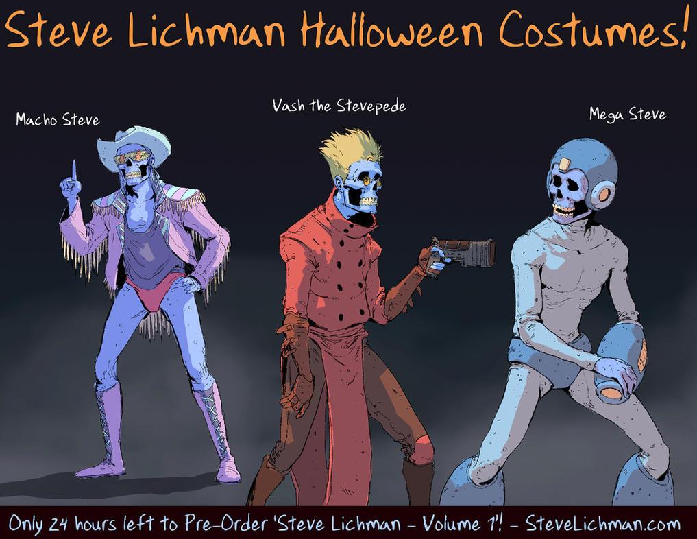 Steve Lichman Halloween Costumes #2 by DaveRapoza