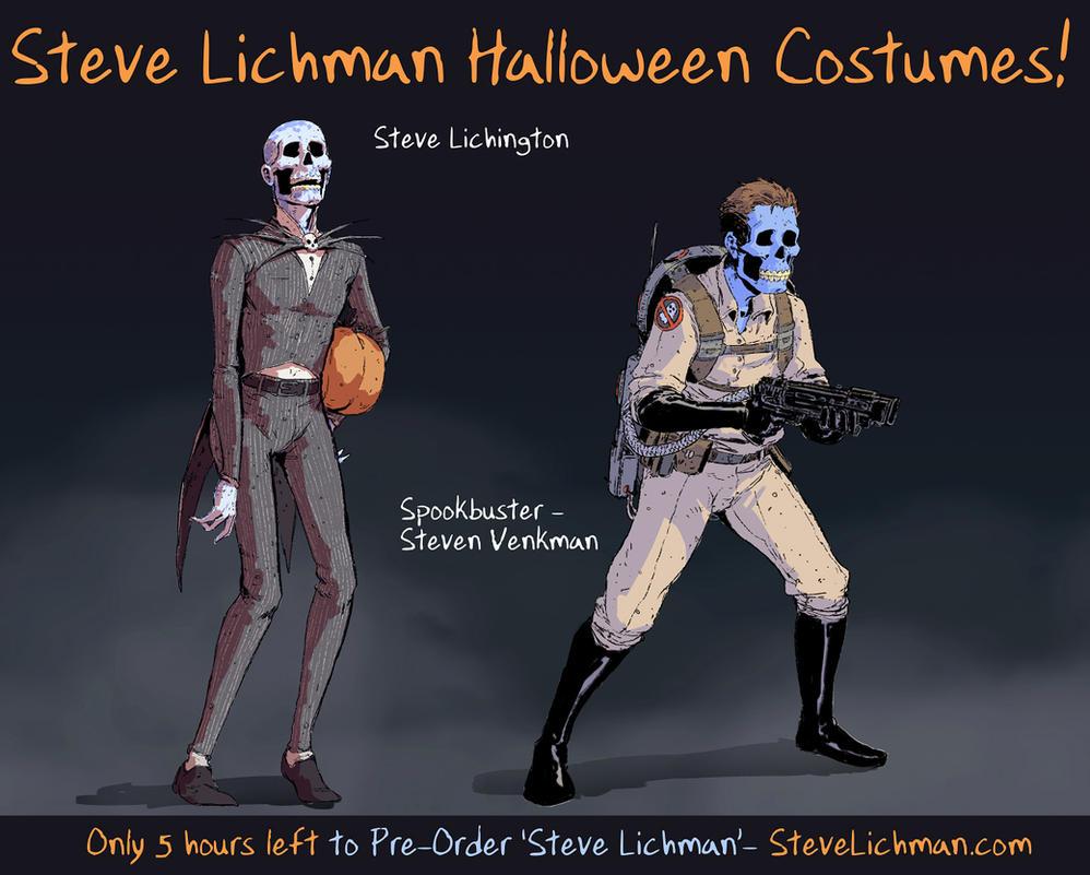 Steve Lichman Halloween Costumes #3 by DaveRapoza