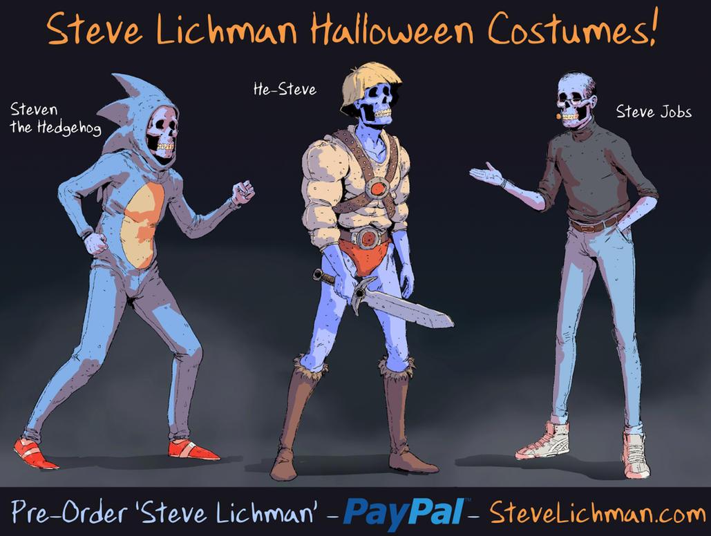 Steve Lichman Halloween Costumes #4 by DaveRapoza