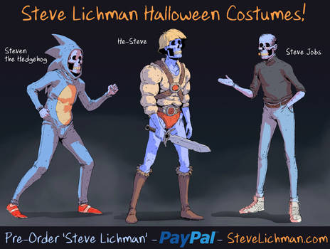 Steve Lichman Halloween Costumes #4