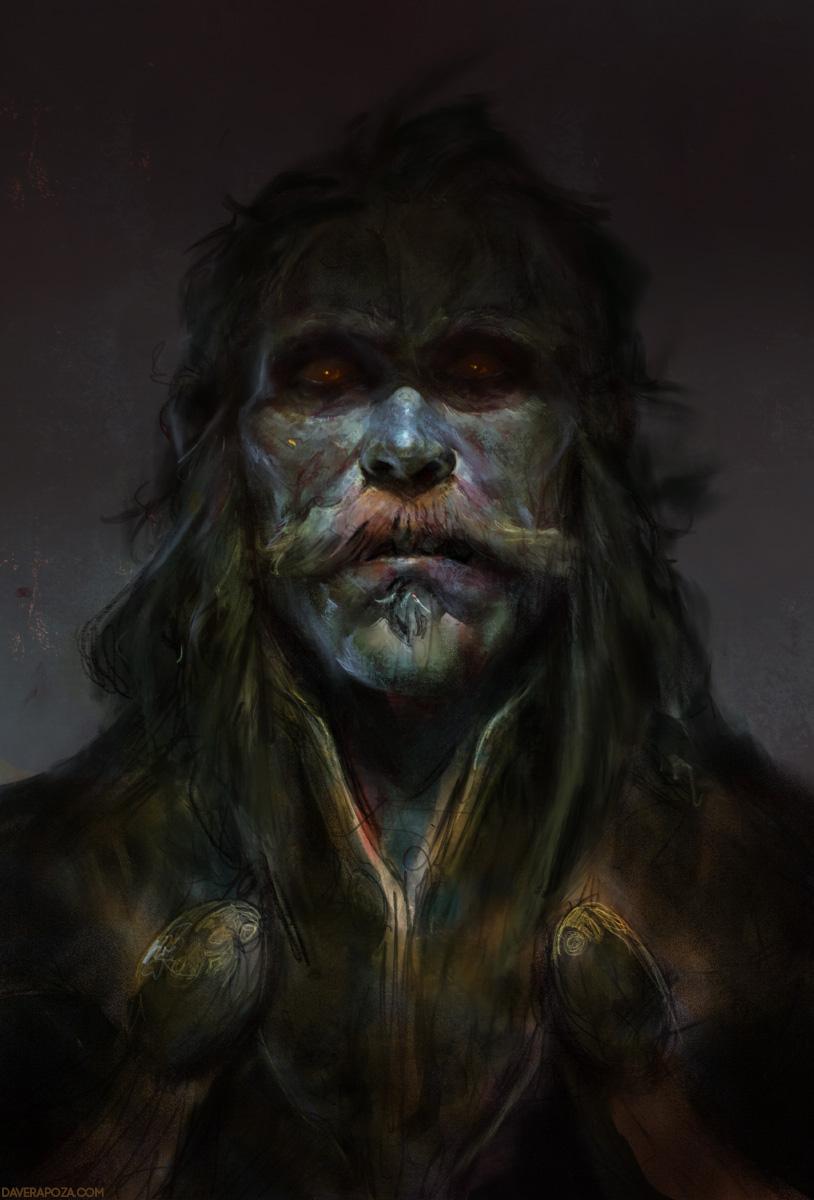 Monster Man by DaveRapoza
