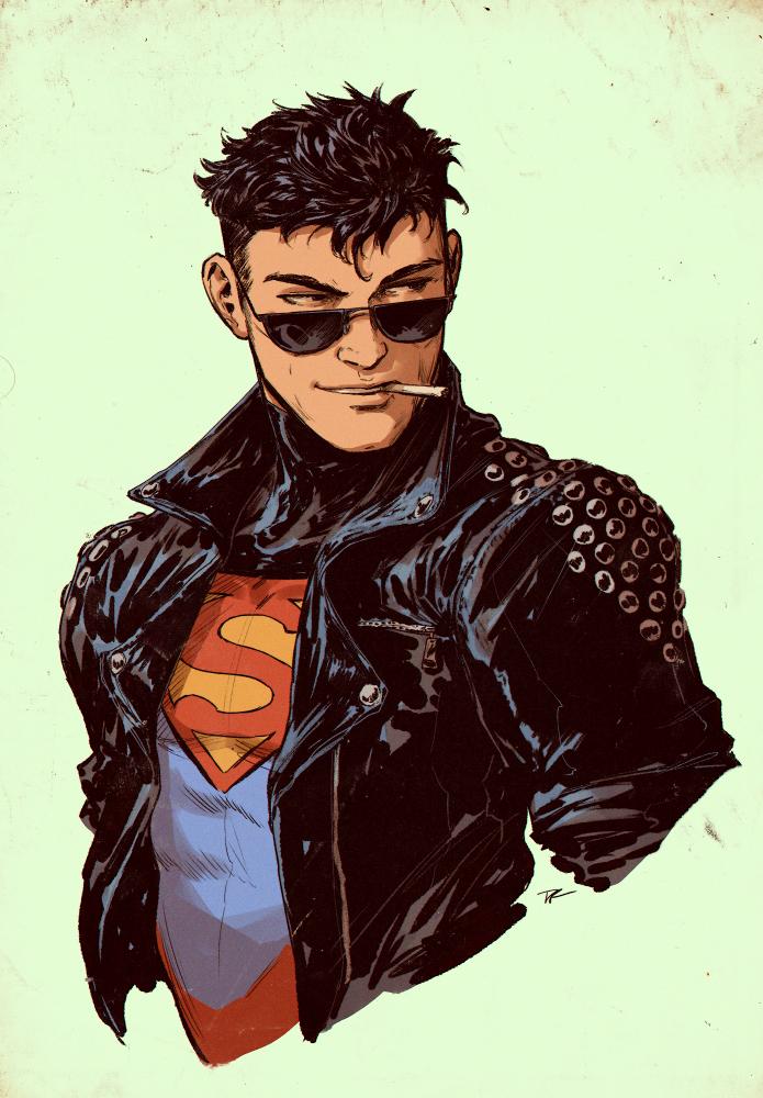 Superboy by DaveRapoza