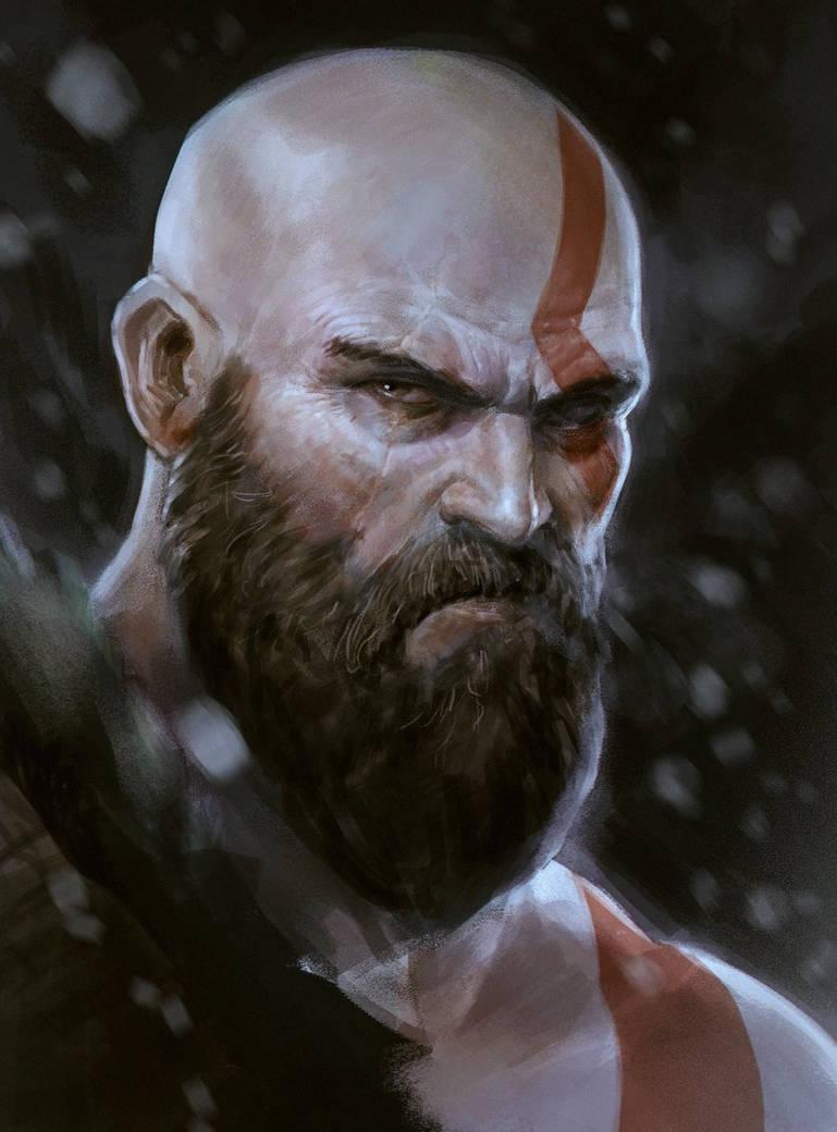 Kratos by DaveRapoza