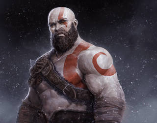 Kratos by DaveRapoza
