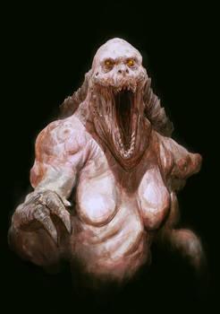 Monster Man color sketch