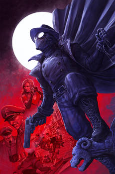 Spider-Man Noir #2 Cover
