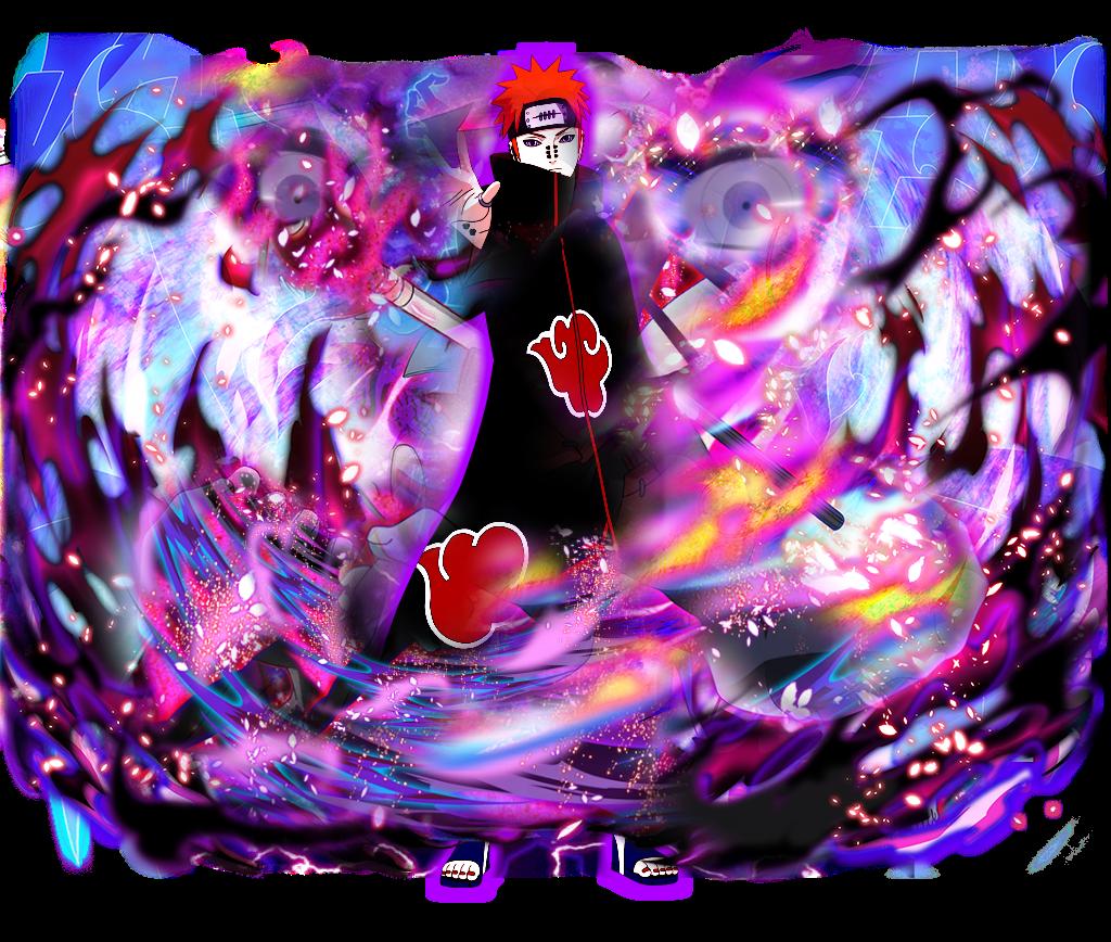 Pain Naruto Wallpaper: Pain Naruto Blazing FanArt By AnimeBlaster On DeviantArt