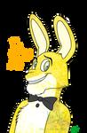 FNaF - Golden Bonnie