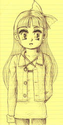 Yellow Girl by hea777