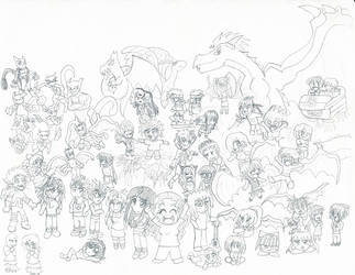 Character Collage! by hea777