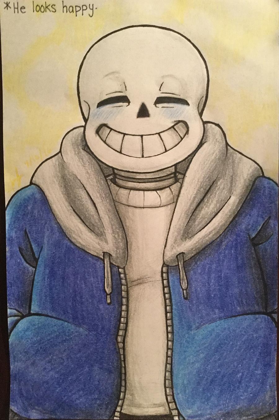He looks happy. by hea777