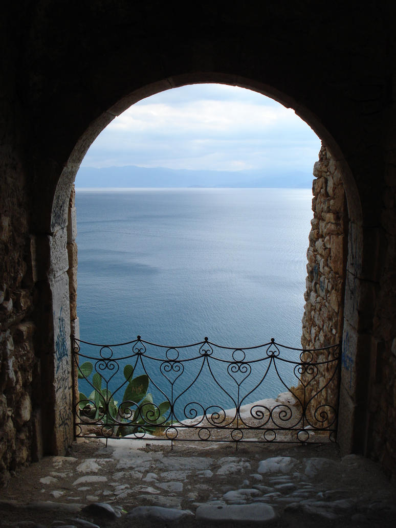 window on the sea by georgeveis
