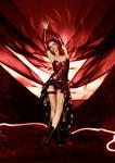Burlesque Latex Dress