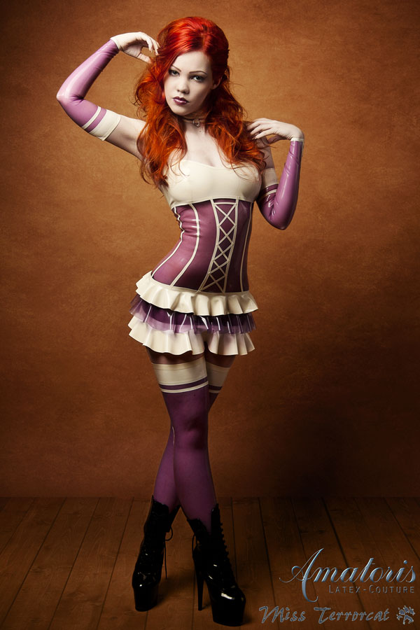 TerrorCat Latex-Outfit (Kl0009) by AmatorisLatexCouture