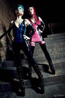 Miss.K- + Model  Terrorcat (Latex-Outfits) by AmatorisLatexCouture