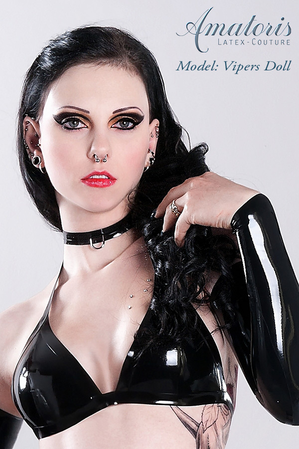 VipersDoll Latex-Bra by AmatorisLatexCouture