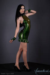VipersDoll Latex-Dress KL0019 by AmatorisLatexCouture