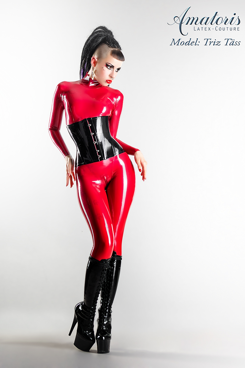 Triztaess Catsuit Corset By Amatorislatexcouture On Deviantart