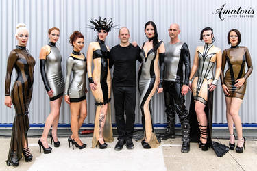 GothicMagazine Amatoris Latex-Couture FashionShow by AmatorisLatexCouture
