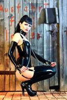 Black Widow Latex-Corset 3 by AmatorisLatexCouture