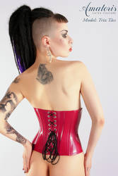 TrizTaess Latex-Corset Cor0002 red 2 by AmatorisLatexCouture