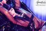 Black Widow Latex-Kimono (gown) 3