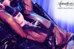 Black Widow Latex-Kimono (gown) 3