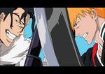 Bleach: Ichigo vs Ginjo