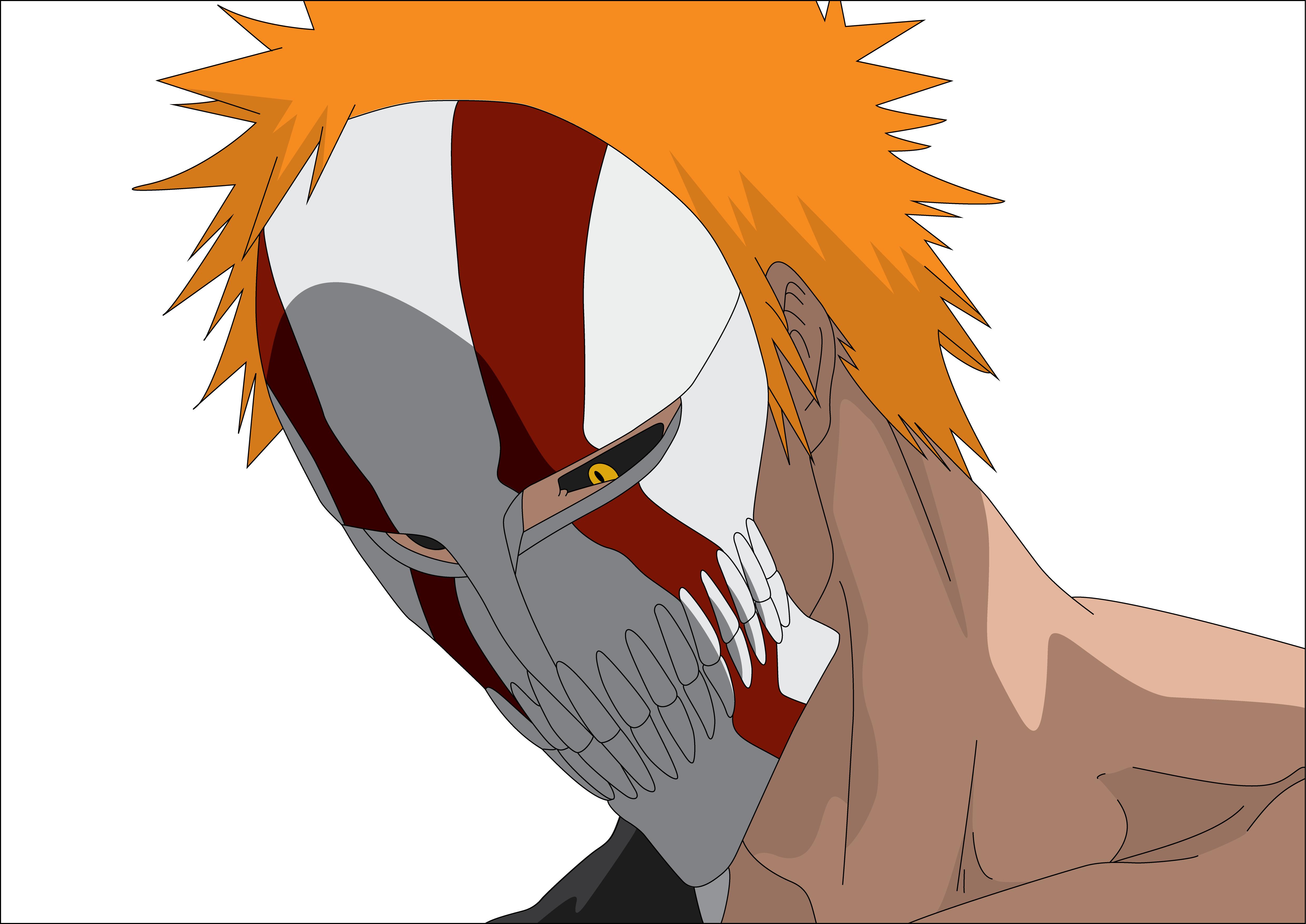 Ichigo hollow mask by havoc3001 on deviantart - Ichigo vizard mask ...