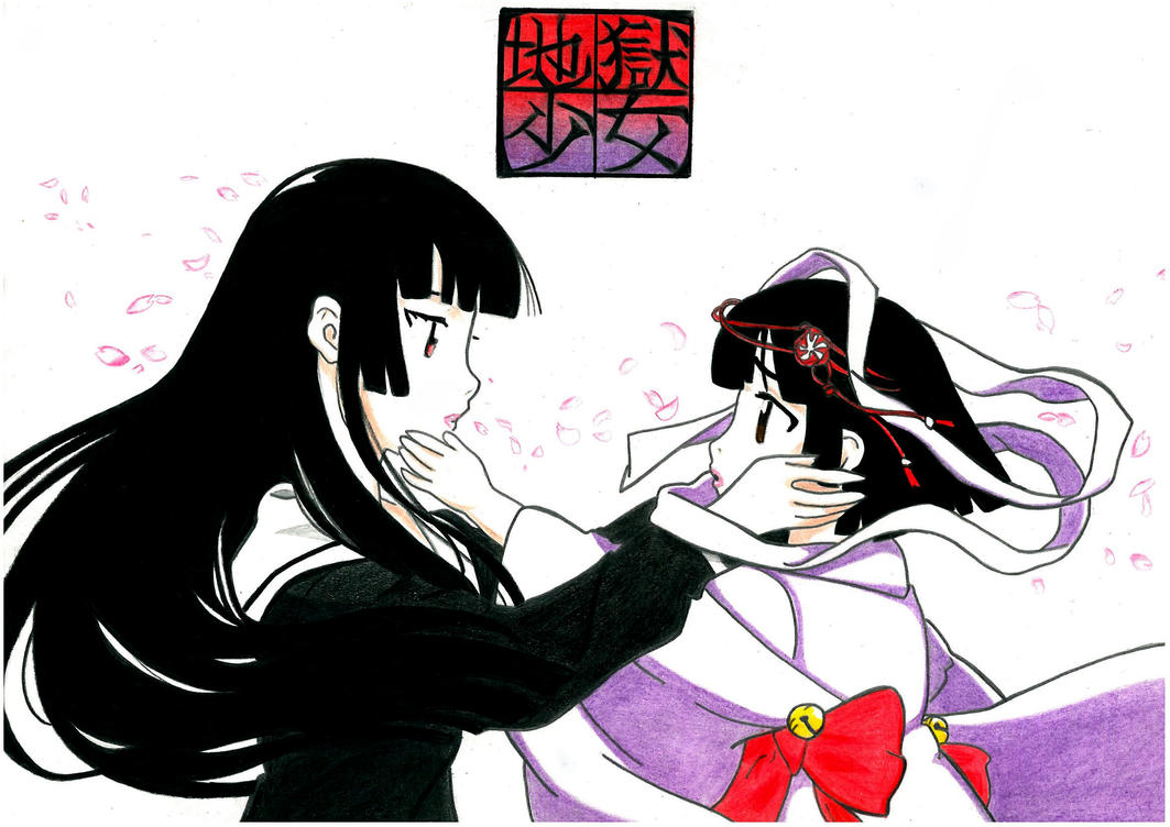Jigoku Shoujo by Flxrence