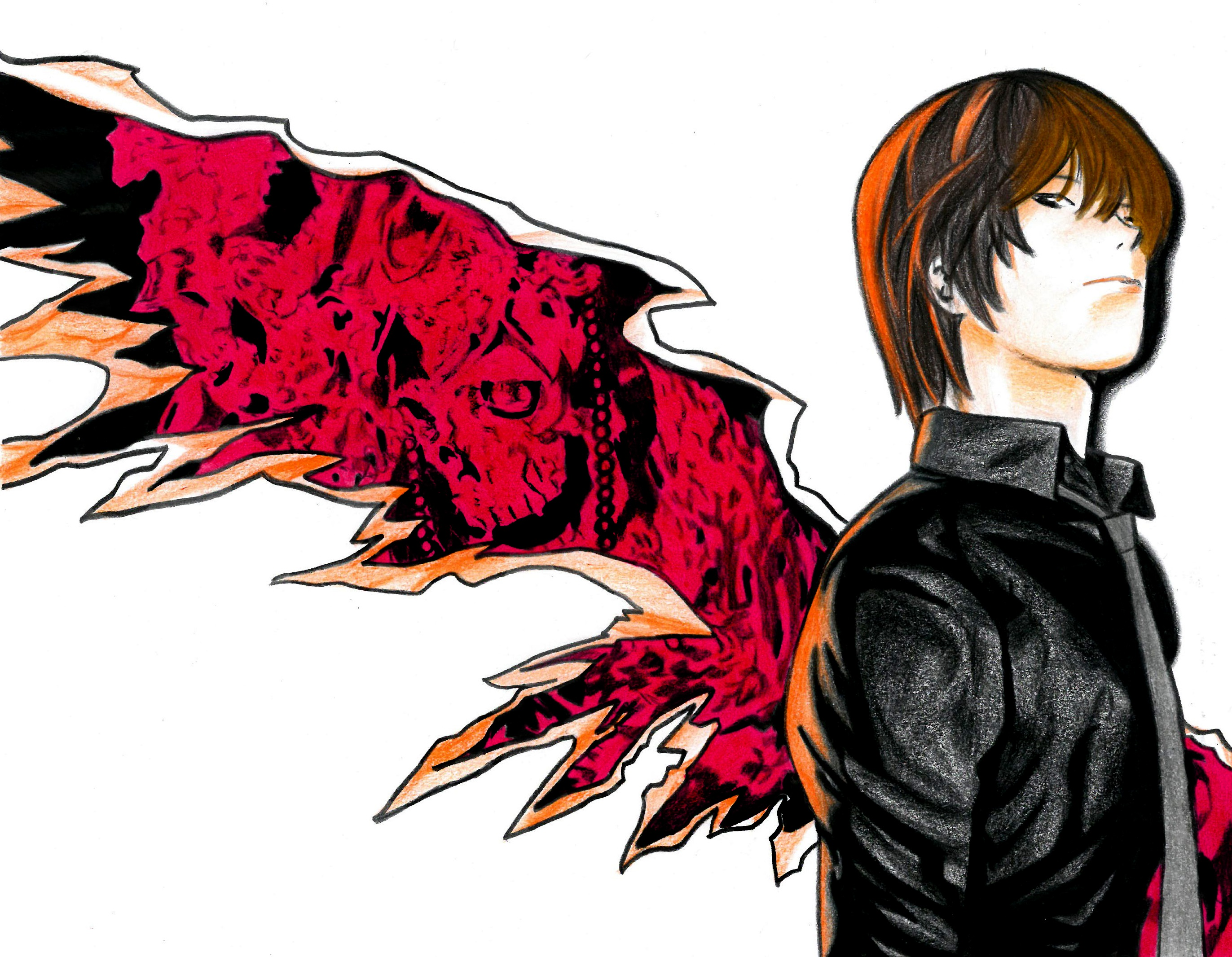 Light Yagami by Flxrence