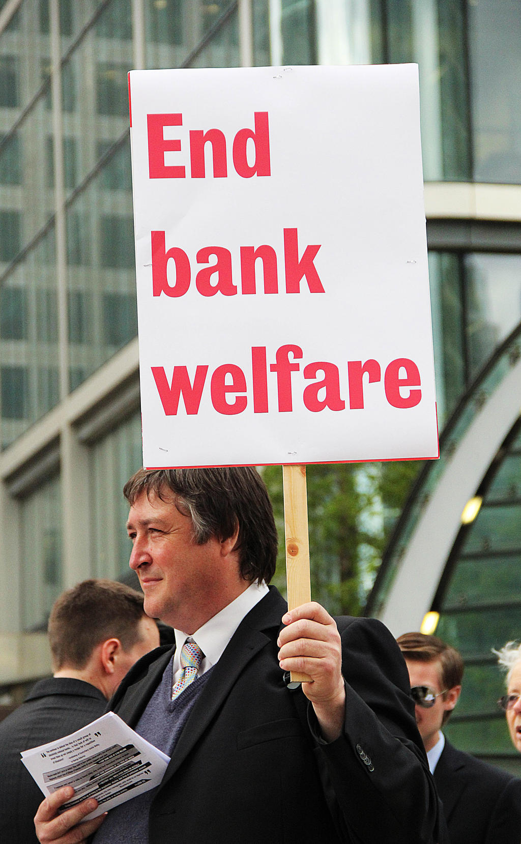 Protest the Banks: End Bank Welfare. by LouHartphotography