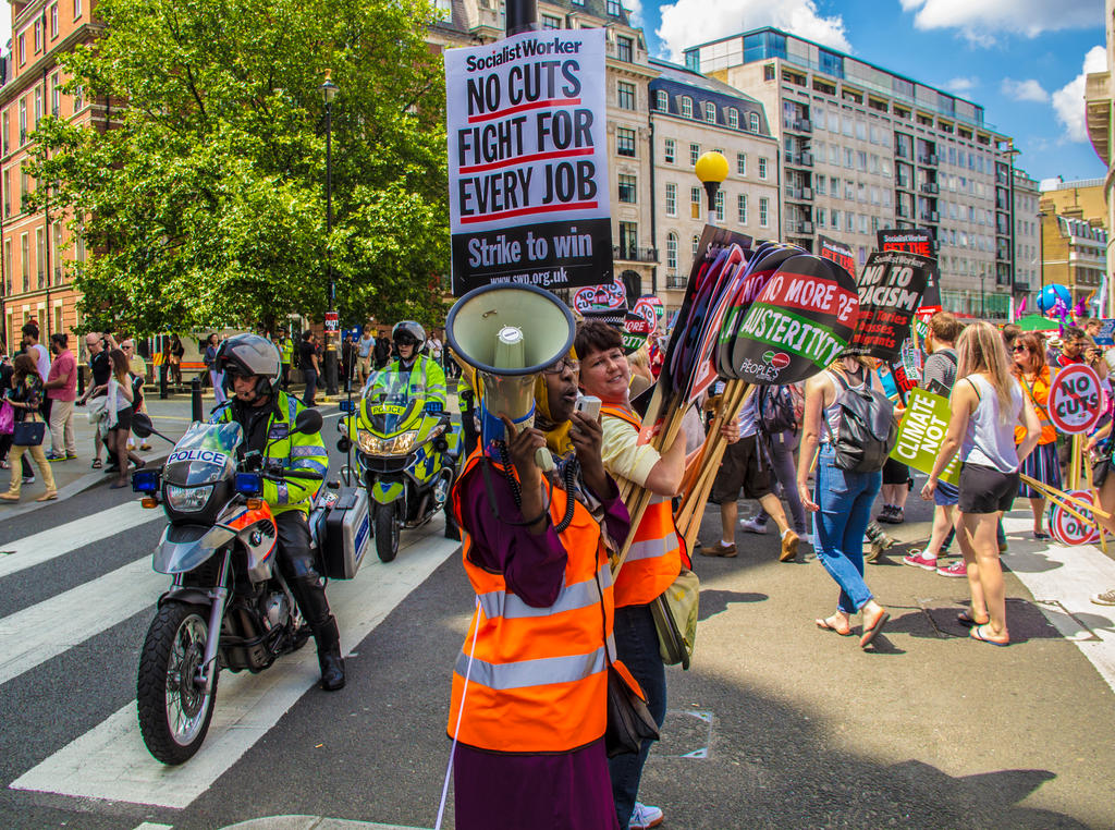 50,000 Strong Protest, London - 21/06/14 by LouHartphotography
