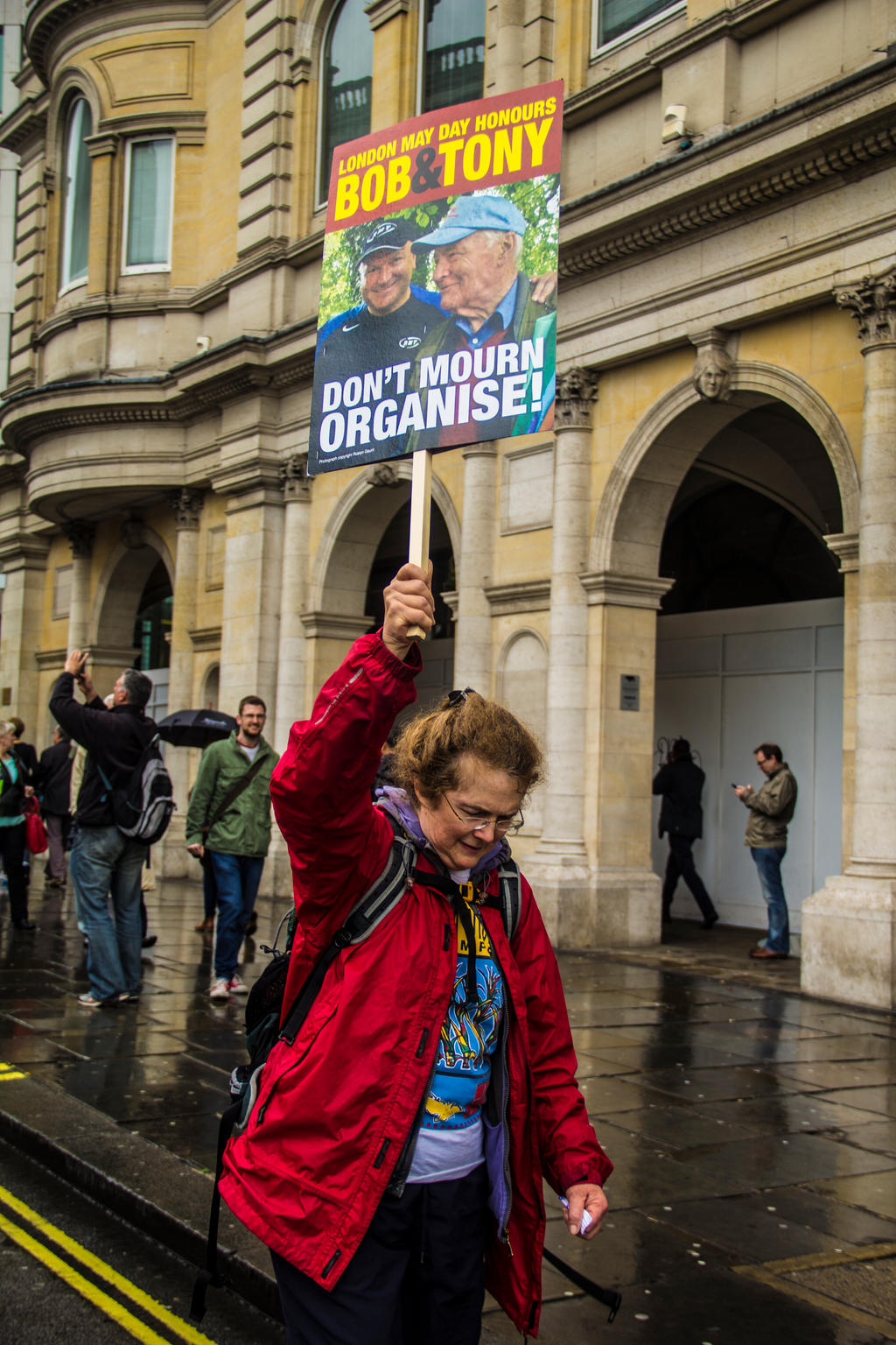 May 2014, Protest, London. by LouHartphotography