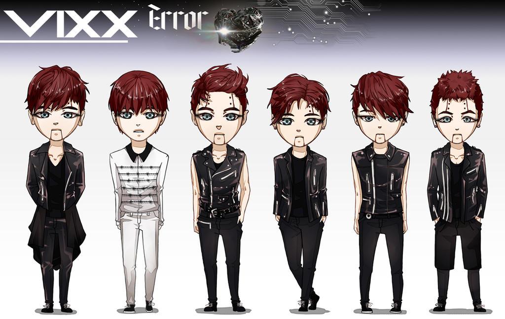 07 VIXX Error by Lenalee-sama