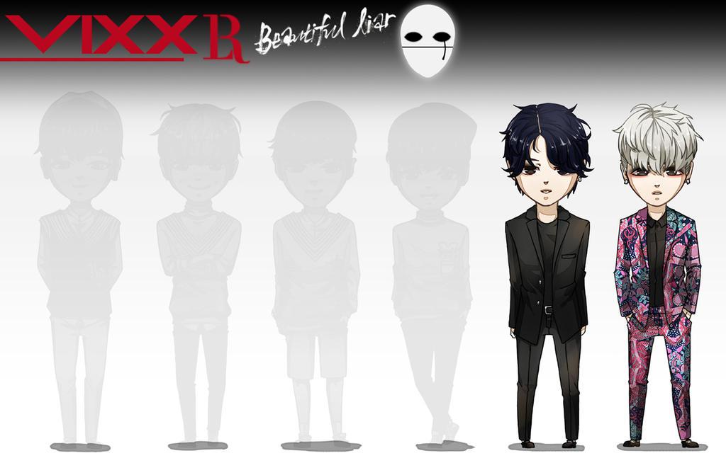 09 VIXX LR Beautiful Liar by Lenalee-sama