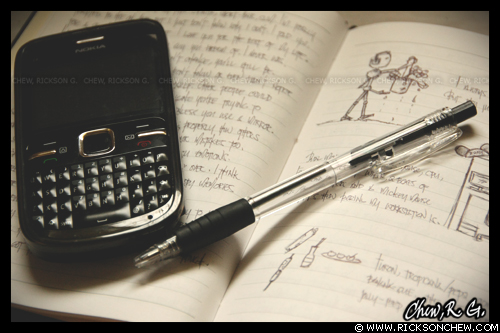 Notebook by ricksonchew