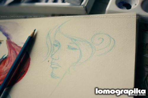 violeta righty sketch