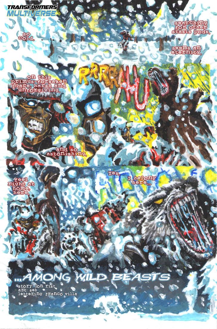Fan Art i slicno - Page 2 Among_wild_beasts_by_divljasvinja-d6i3k1z