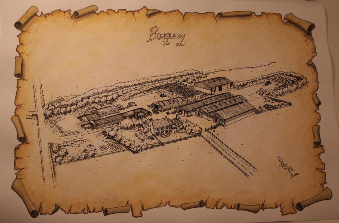 Beaquoy inks by saganich