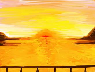 Sunset Beach by x-32