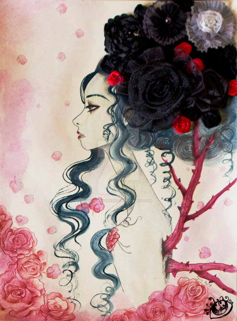 The Anthomania FloLady Detail by blackenthered