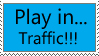 Play in Traffic Stamp by standbyblizzard