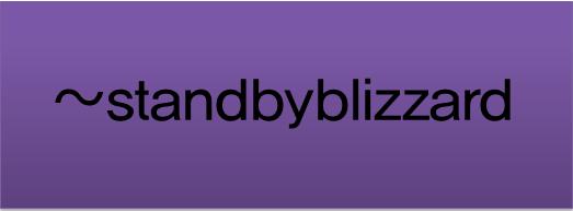standbyblizzard's Profile Picture