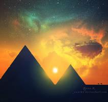 pyramids by YumiKF