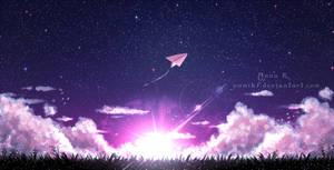 paperplane by YumiKF