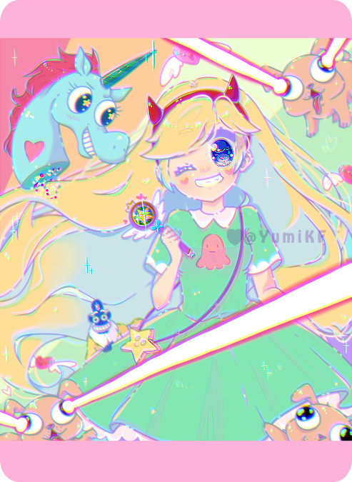 Star Butterfly by YumiKF